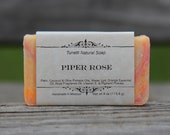 Piper Rose Soap - All Natural Soap, Handmade Soap, Homemade Soap, Handcrafted Soap