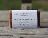 Pumpkin Souffle Soap - All Natural Soap, Handmade Soap, Homemade Soap, Handcrafted Soap