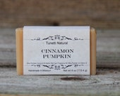 Cinnamon Pumpkin Soap- Handmade Natural Soap