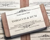 Tobacco & Rum Soap- Handmade Natural Soap
