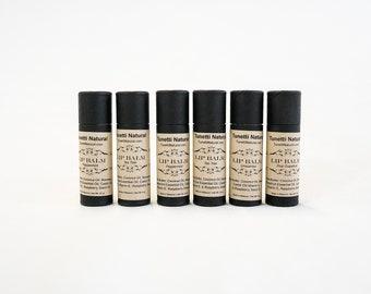 Lip Balm, Biodegradable Paperboard Packaging - Natural Organic