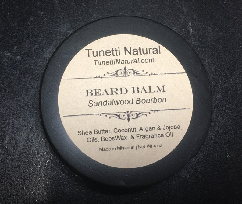 Natural Organic Beard Balm image 0