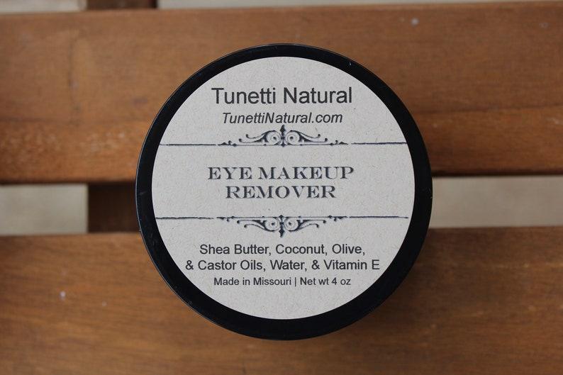 Natural Organic Eyelash Conditioner and Eye Makeup Remover image 0