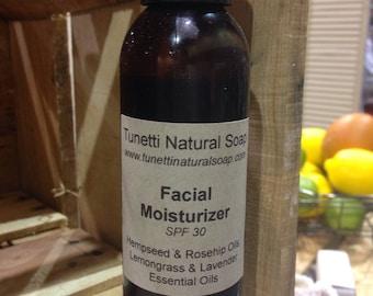 Natural Organic Daily Facial Moisturizer