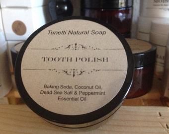 Natural Organic Tooth Polish