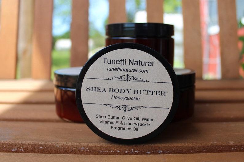 Natural Organic Shea Body Butter image 0