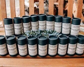 Deodorant - Biodegradable Packaging, Natural Organic Handmade