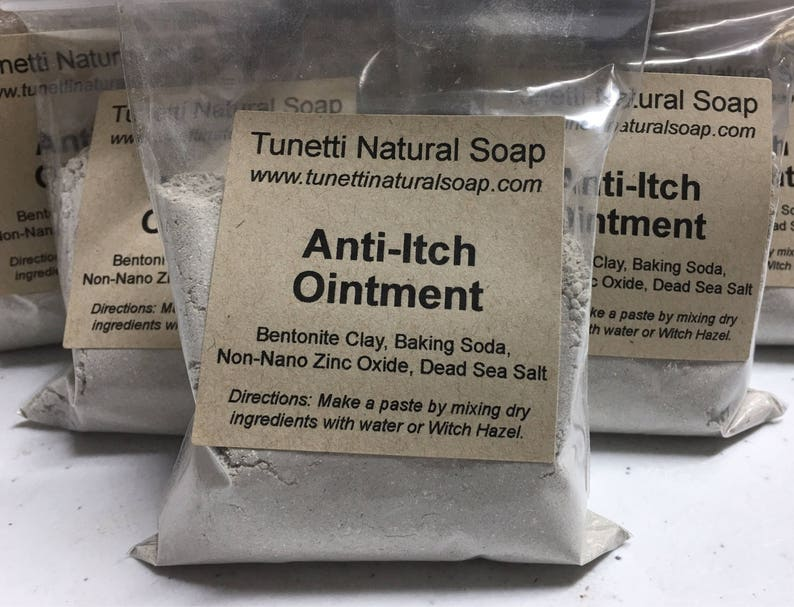 Natural Organic Anti-Itch Ointment image 0