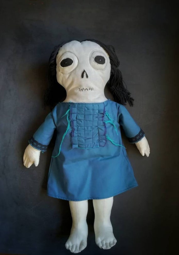 Creepy Doll Halloween Dead Mary Etsy