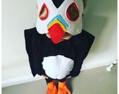 Puffin Costume, Kids Puffin Costume, Adult Puffin Costume, Puffin Rock, Puffin Dress Up, Puffin Fan. Puffin Mask, Cape Feet Robins Bobbins