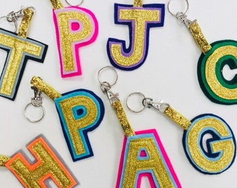 Letter keychain  77f10b4312