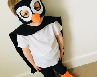 Kids Penguin Costume Etsy