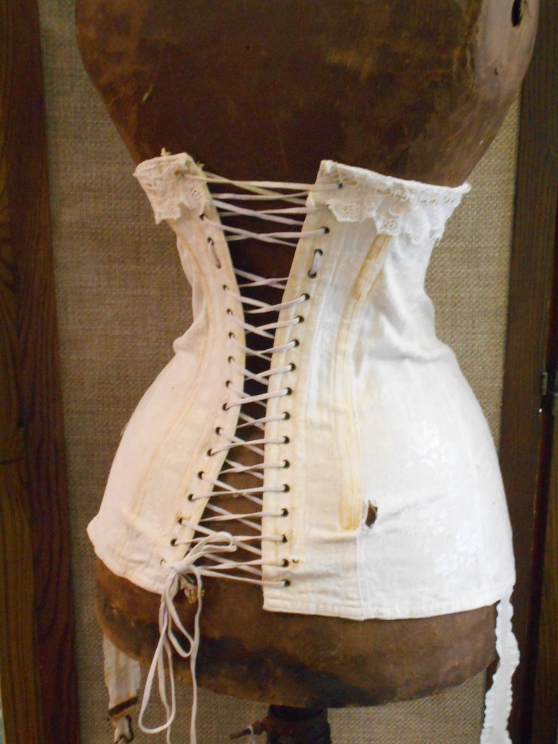 cheapest price select for latest hot-selling professional 1800's French Victorian Wasp Waist Corset -