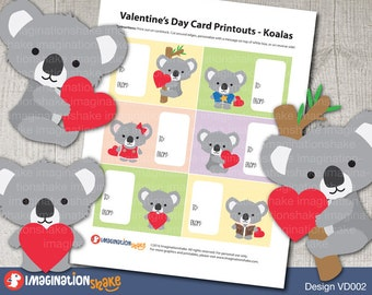 Cute Koala Love Card Etsy