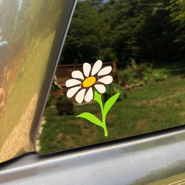 Classic Daisy Decal Car Sticker Yeti Phone Case Decals Summer Etsy