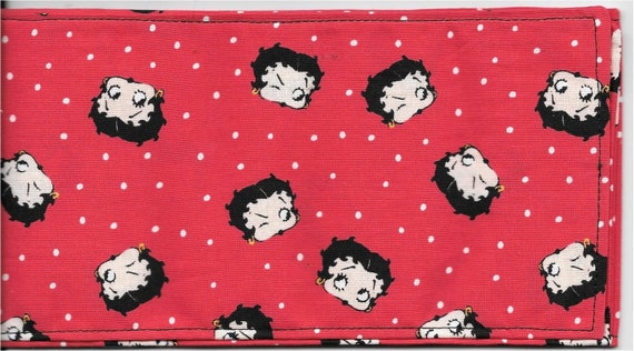 Betty Boop Do Rag With Polka Dots Rockabilly Rosie The Riveter Comics Head Wrap Head Band Pin Up