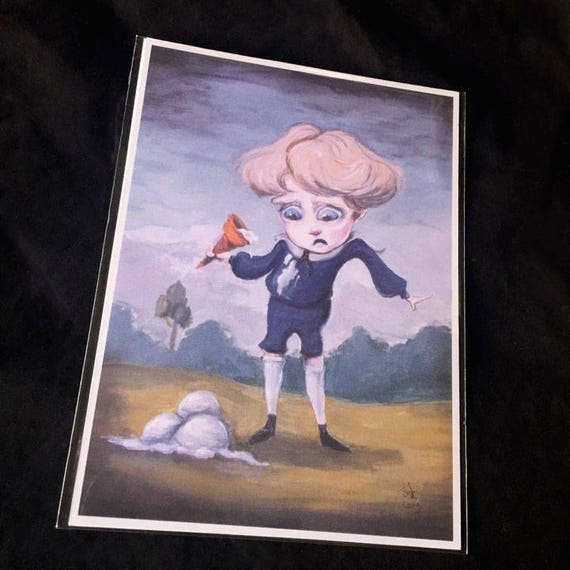 Coraline Boring Blue Boys 5x7 Art Print Set Etsy