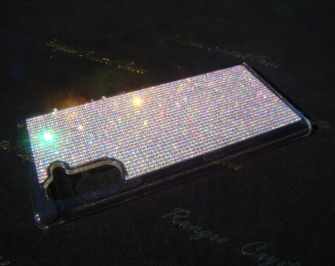 Galaxy Note 10 Case Crystals AB Transparent Case. Genuine Rangsee Crystal Cases.