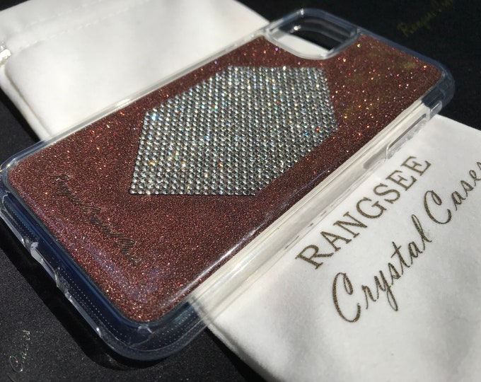 iPhone 11 Case, iPhone 11 Pro case, iPhone 11 Pro Max case,  Clear Diamond  Rhinestone crystals Clear PC/TPU rubber Case, Limited Edition