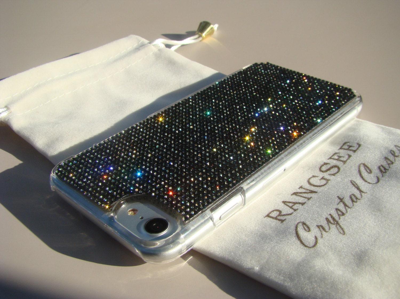 brand new 1a10d eafc8 iPhone 8 Case / iPhone 7 Case Black Diamond Rhinestone Crystals ...
