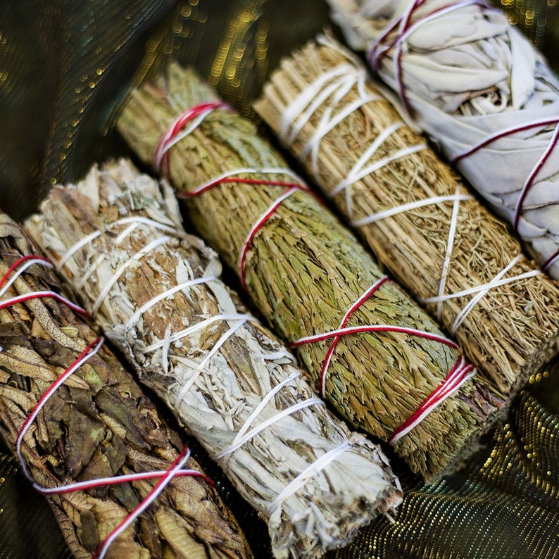 Smudge Stick  Pick Your Own  Wiccan Cleansing  House image 0