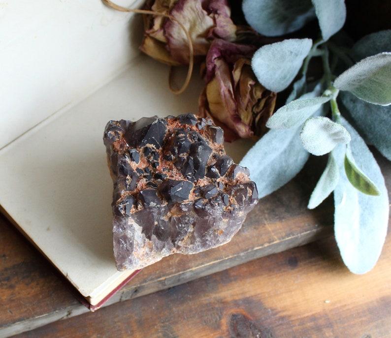 410g Natural Amethyst Geode Crystal  Healing Crystal  image 0
