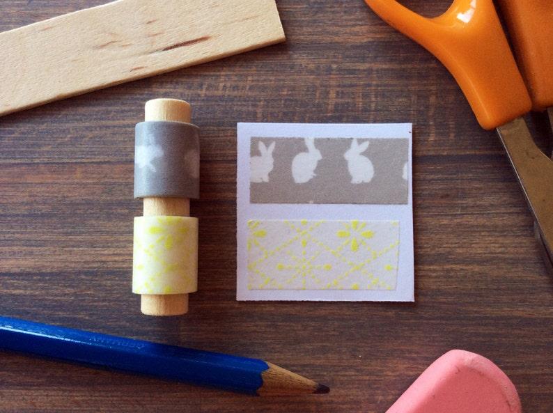 Washi Tape Sampler Bunny Brights