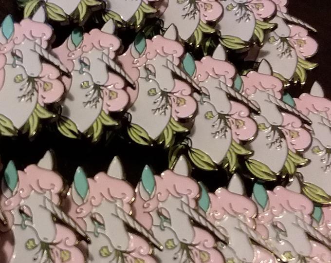 Hanahaki Unicorn Enamel Pin DEFECTIVES