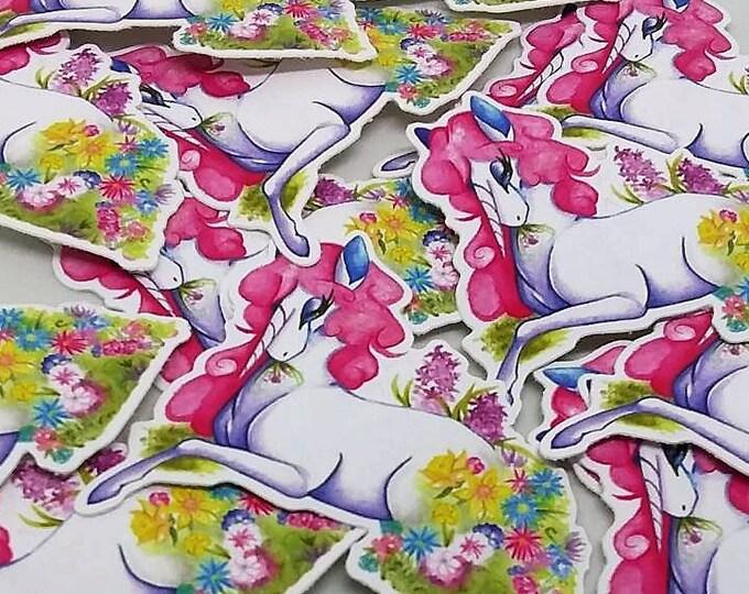 Hanahaki Unicorn Sticker