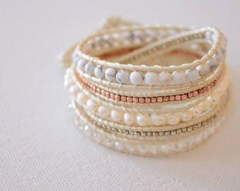Magnolia Wrap Bracelet