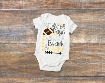 Pittsburgh Baby Bodysuit or Toddler Shirt - Steelers e379052d1
