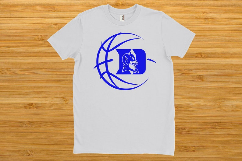 32f56bd1f42d Duke Blue Devils Basketball Shirt White Men s
