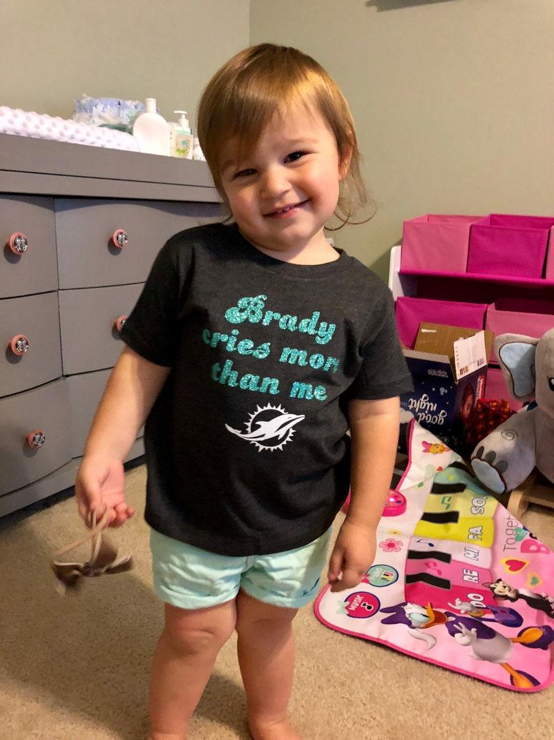 Brady Cries More Than Me Baby Bodysuit and Toddler Shirt  2eb568e12