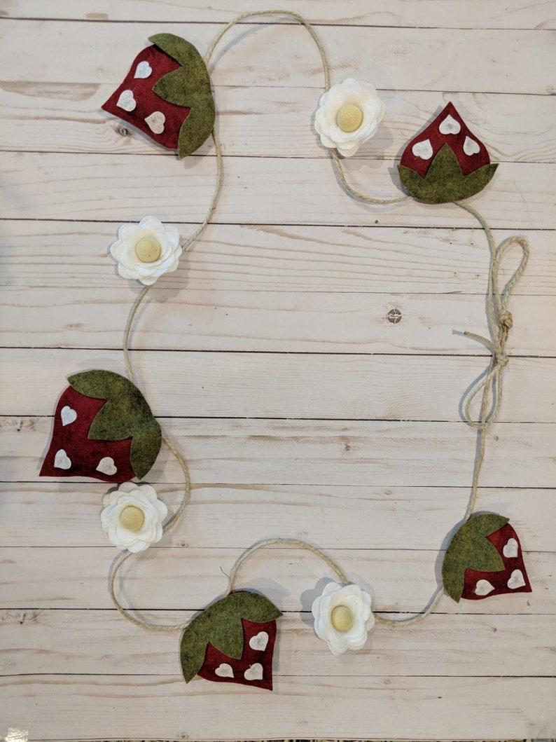 strawberry garland