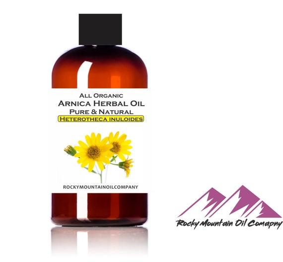 Premium Organic Arnica Montana Herbal Oil - Cold Pressed