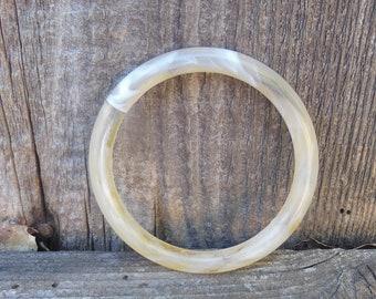 Vintage Acrylic Marble Bangle