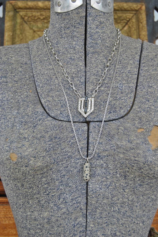 Dazzling Deco Necklace