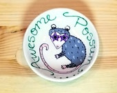 Awesome Possum, Possum Spoon Rest, Possum Tea Bag Holder, Funny Possum Bowl, Possum Soy Sauce Bowl, Possum Ring Holder, Cute Possum