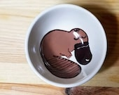 Platypus Ceramic Bowl, Platypus Small Bowl, Platypus Ring Holder, Platypus Snack Bowl, Platypus Ramekin, Platypus Art