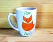 For Fox Sake Coffee Mug, 12 ounce Funny Coffee Mug, Funny Fox Mug