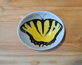 Swallowtail Butterfly Bowl, Oval Yellow Butterfly Spoon Rest, Virginia State Butterfly, Eastern Tiger Swallowtail, Insect