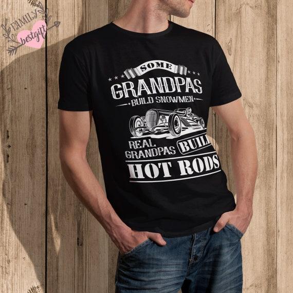 hotrod grandad t shirt