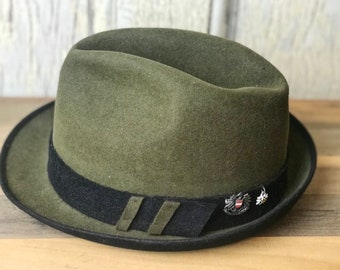 7a9c400bb8df6f Vintage German Fedora Oktoberfest Hat