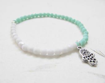 Hamsa bracelet, yoga bracelet, yoga jewelry