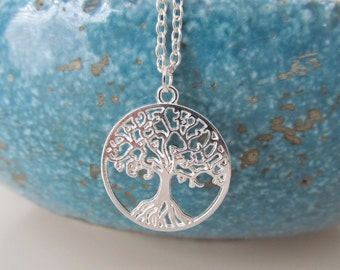 Tree of life necklace, tree necklace, tree jewelry