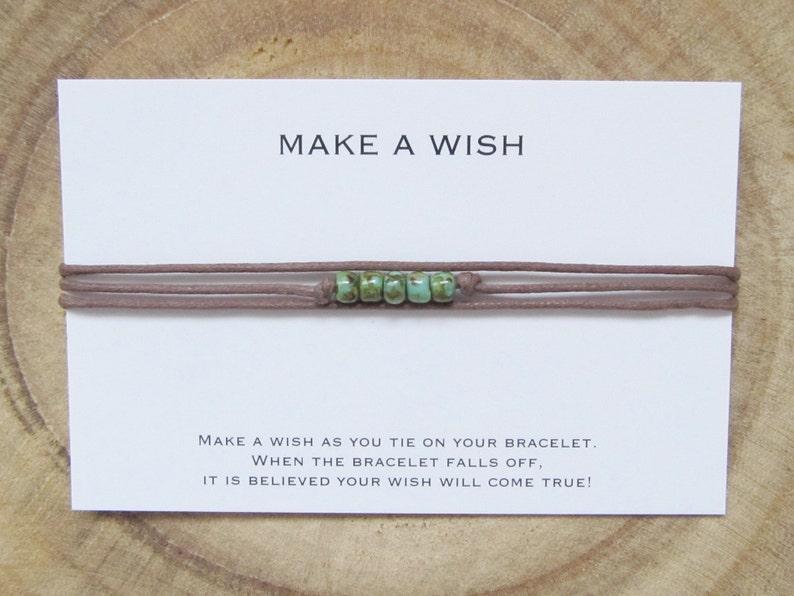 Boho bracelet Friendship bracelet Make a wish bracelet Wish bracelet
