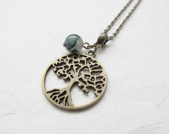 Tree of life necklace, tree necklace