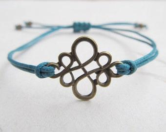Chinese knot bracelet, ornament bracelet