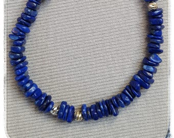 Lapis Fins with silver