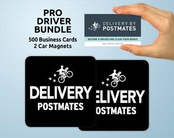 Postmates magnet   Etsy